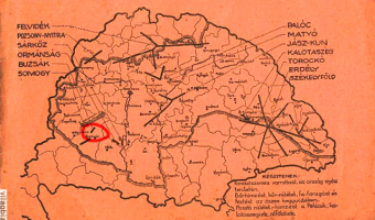 Hungarian Embroidery Map